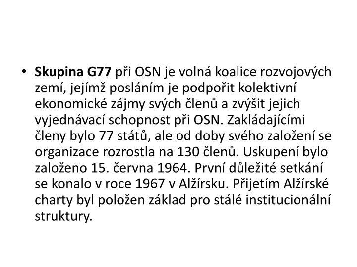 Skupina G77