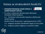 dotace ze struktur ln ch fond eu4