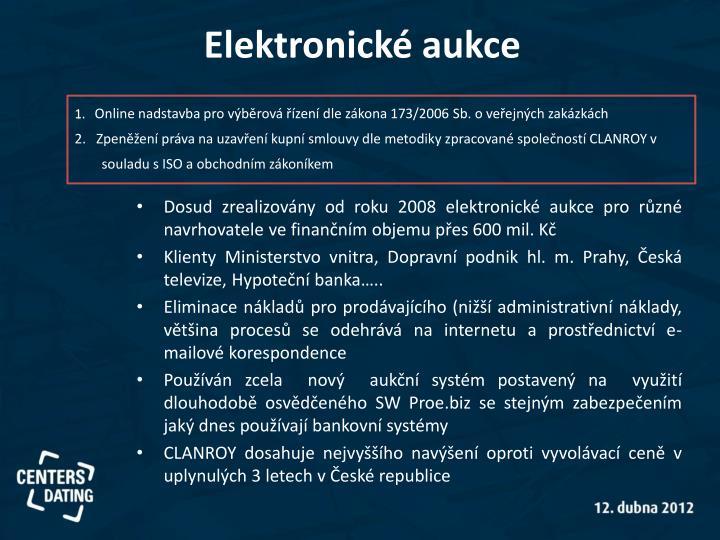 Elektronické aukce