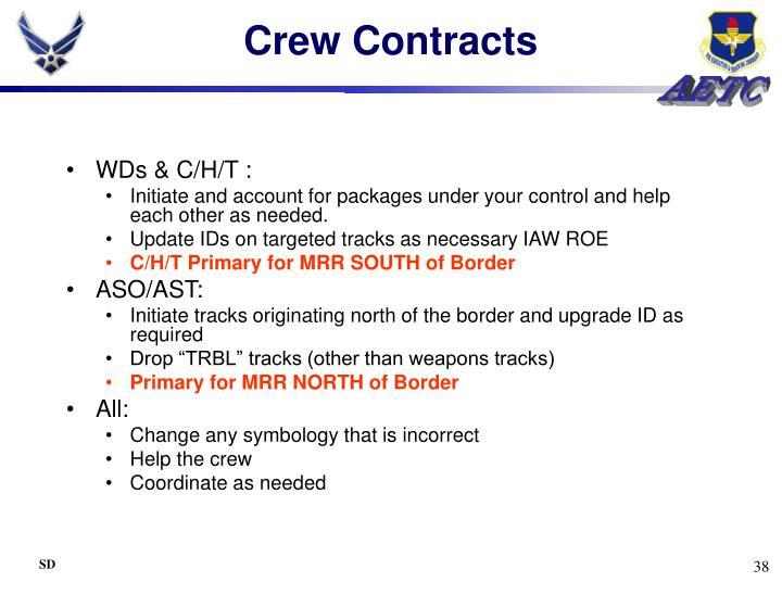 Crew Contracts