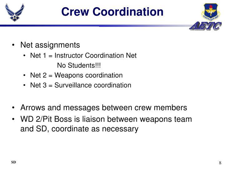 Crew Coordination