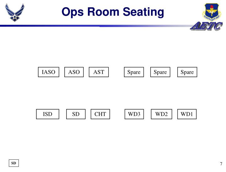 Ops Room Seating