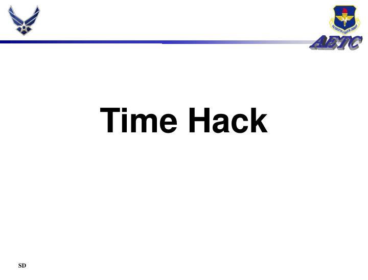 Time Hack