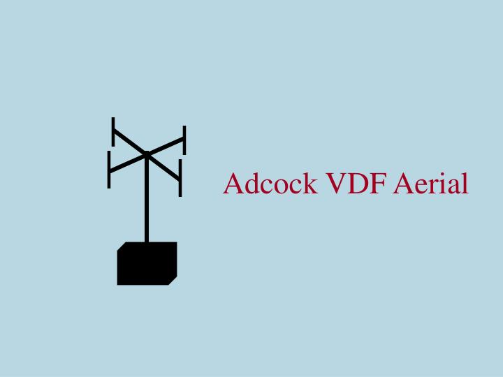 Adcock VDF Aerial