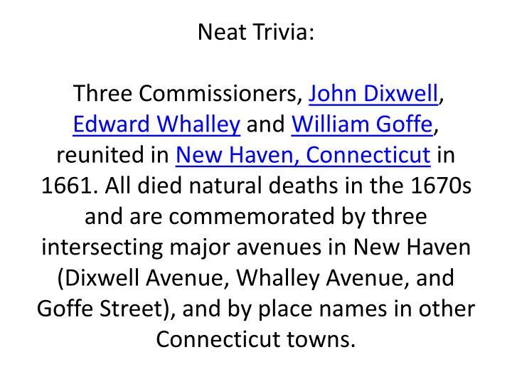 Neat Trivia:
