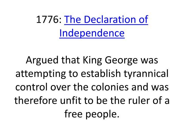 1776: