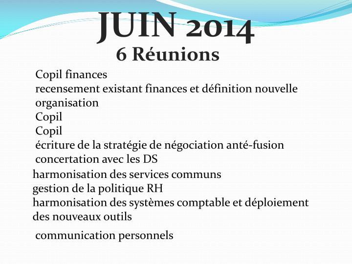 JUIN 2014
