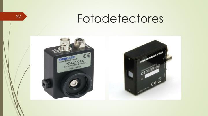 Fotodetectores