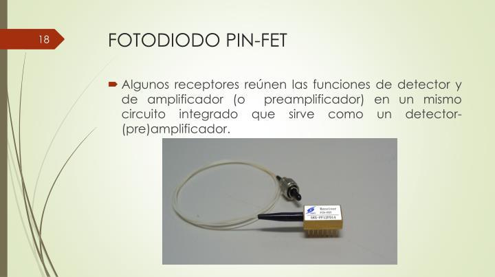 FOTODIODO PIN-FET