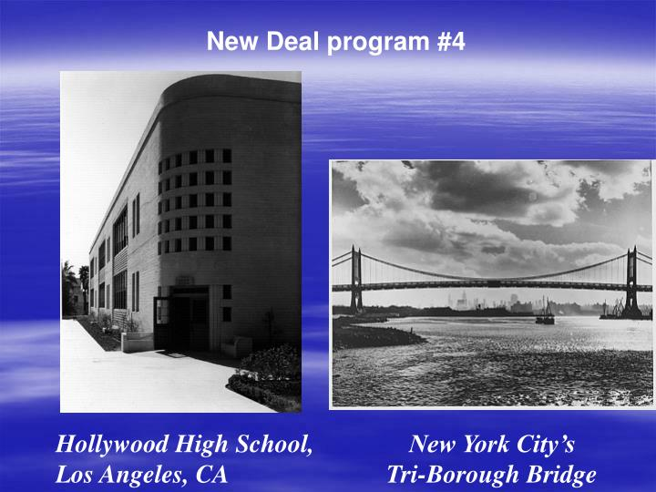 New Deal program #4
