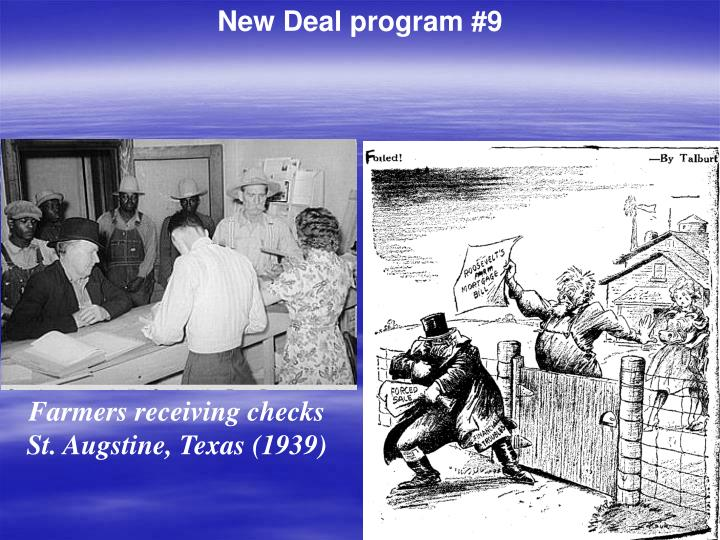 New Deal program #9