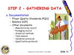 step 2 gathering data1