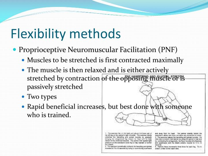 Flexibility methods