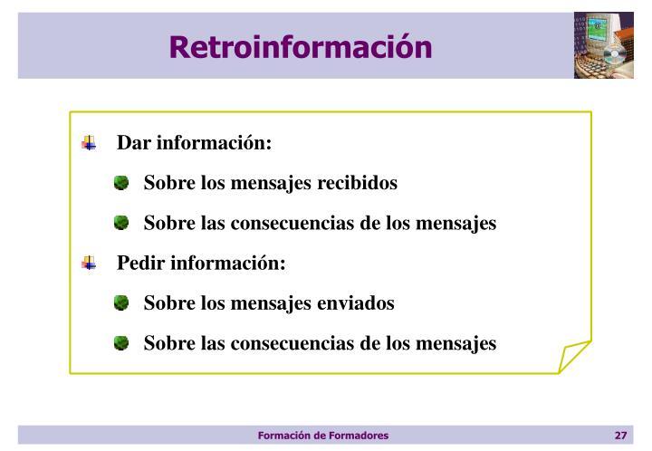 Retroinformación
