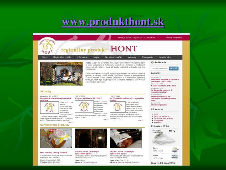 www.produkthont.sk
