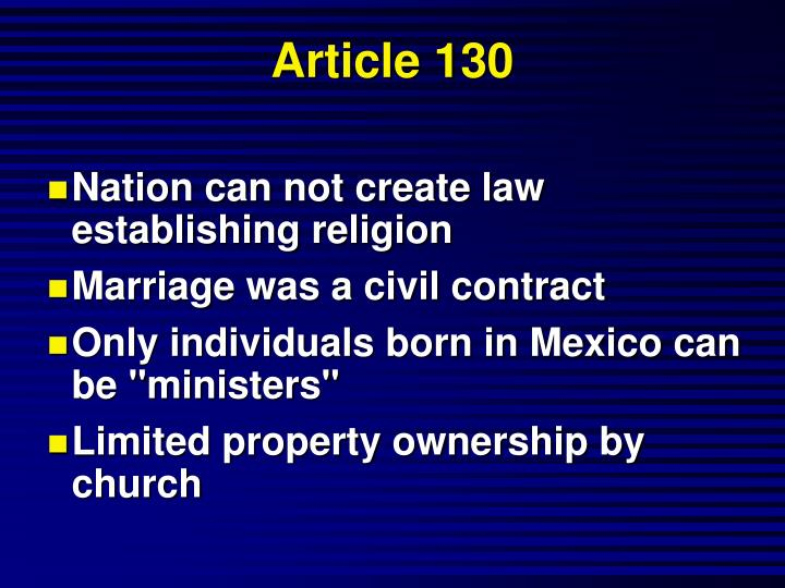 Article 130