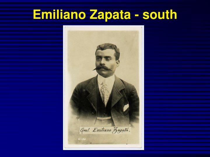Emiliano Zapata - south