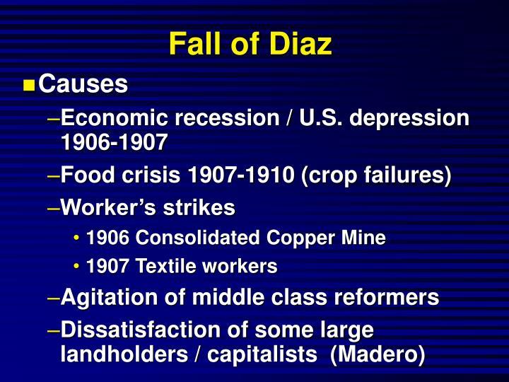 Fall of Diaz