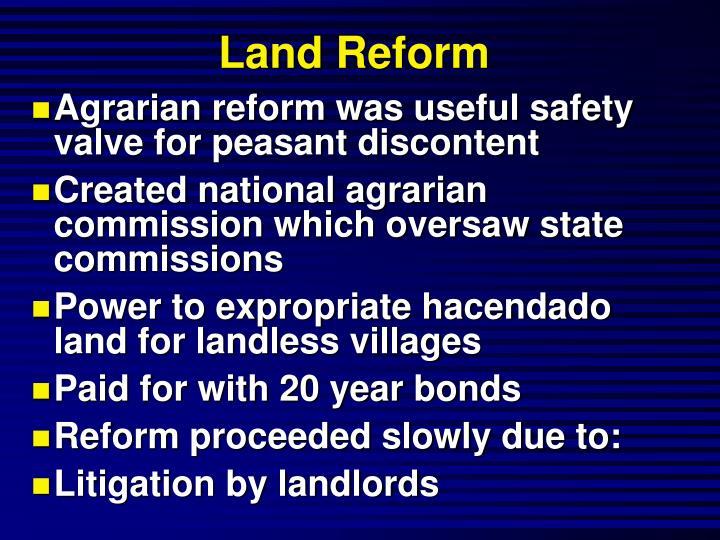 Land Reform