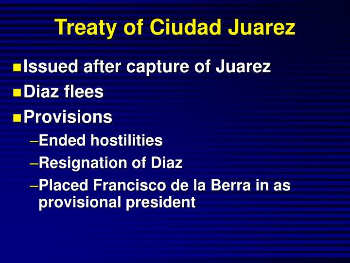 Treaty of Ciudad Juarez