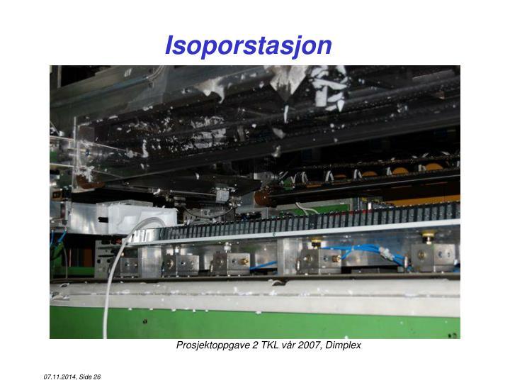 Isoporstasjon