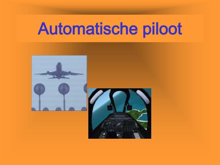 Automatische piloot