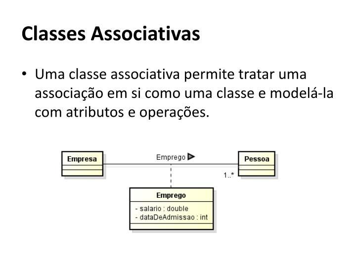 Classes Associativas