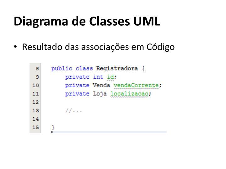 Diagrama de Classes UML