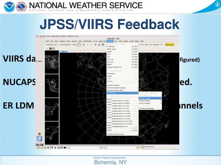 JPSS/VIIRS Feedback