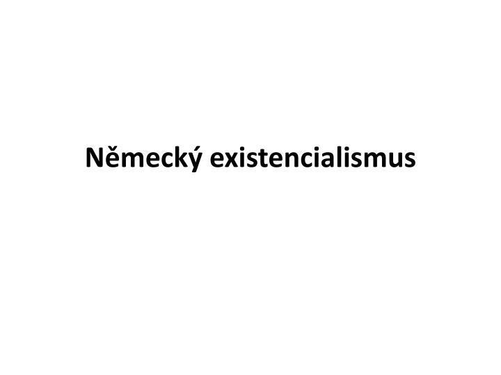 Německý existencialismus