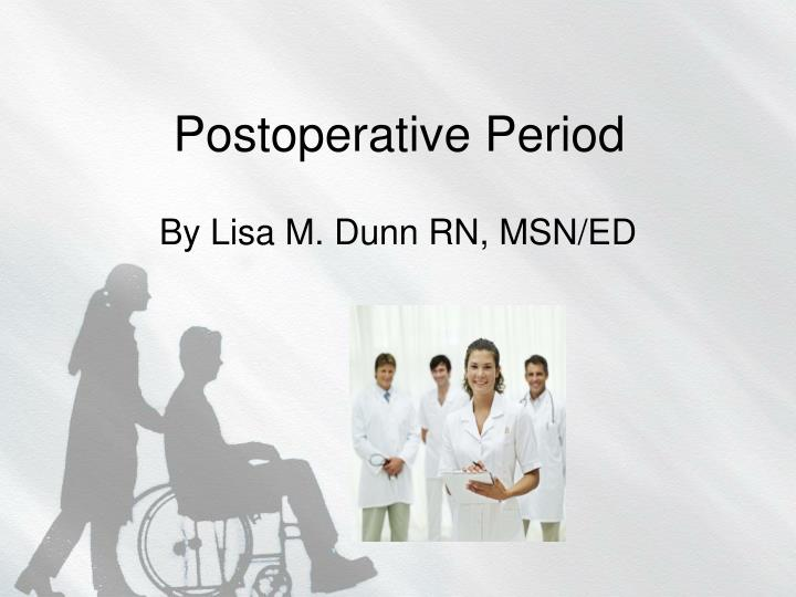 Postoperative period