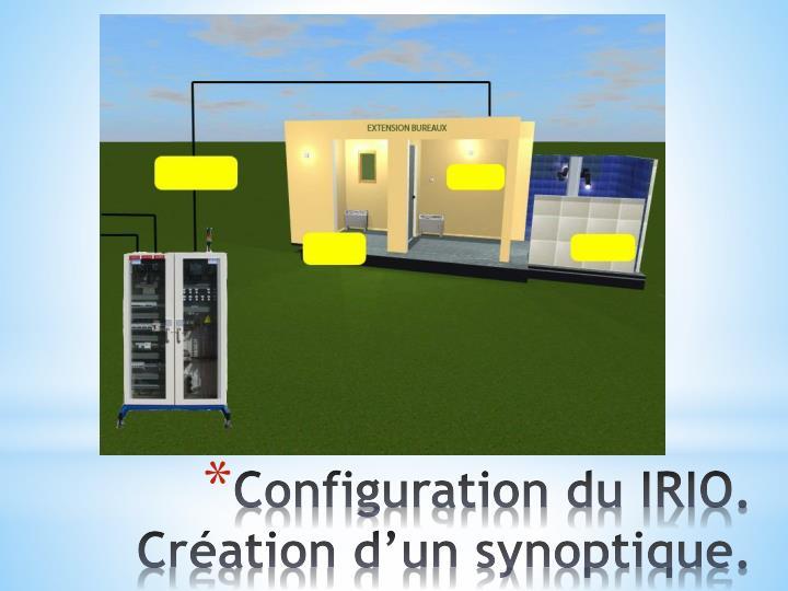 Configuration du IRIO.
