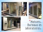 maisons bureaux et laboratoires1
