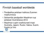 finnish baseball worldwide