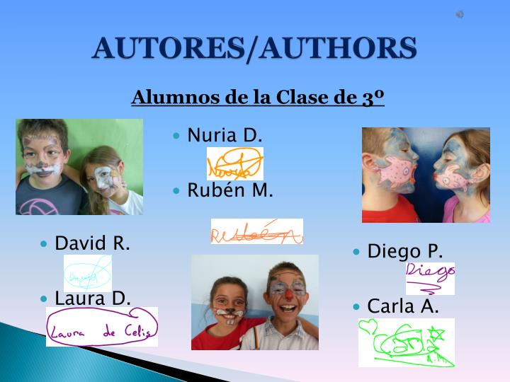 AUTORES/AUTHORS