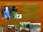 nature and the environment