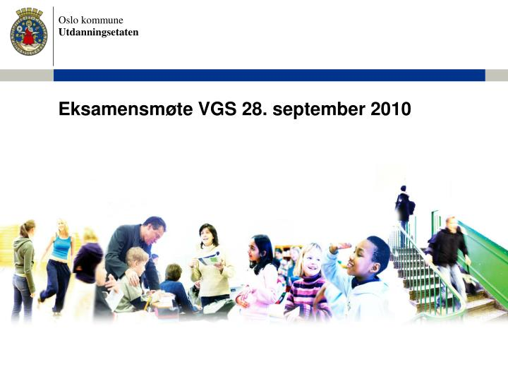 Eksamensm te vgs 28 september 2010