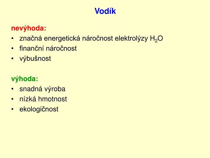Vodík