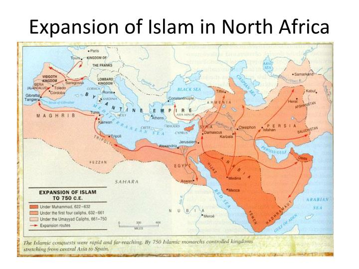 Expansion of Islam in North Africa