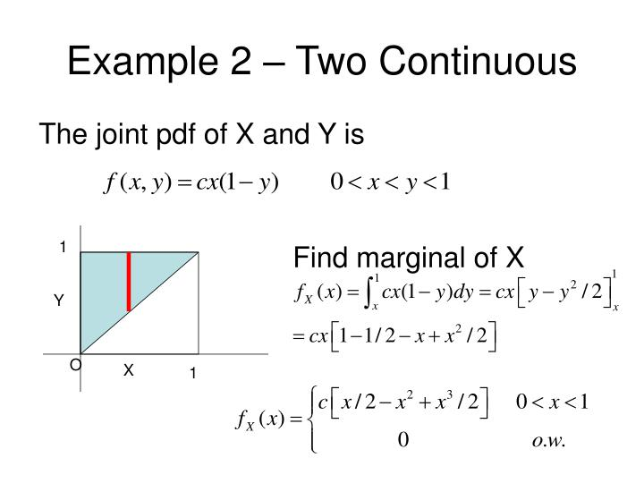 Example 2 – Two Continuous