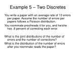 example 5 two discretes