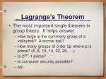 lagrange s theorem1