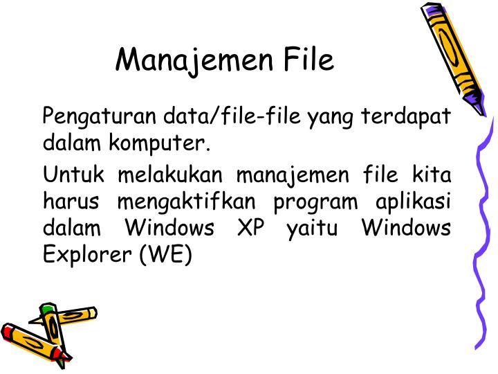 Manajemen File