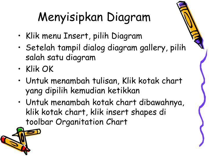 Menyisipkan Diagram