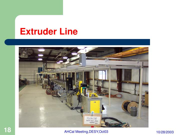 Extruder Line