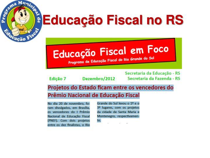 Educação Fiscal no RS