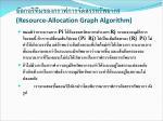 resource allocation graph algorithm1