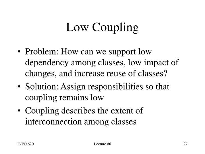Low Coupling