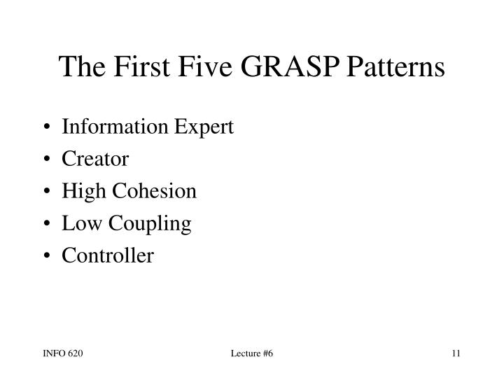The First Five GRASP Patterns