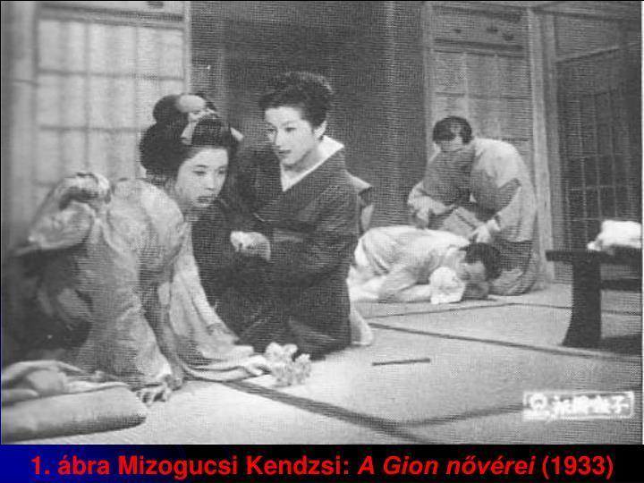 1. ábra Mizogucsi Kendzsi: